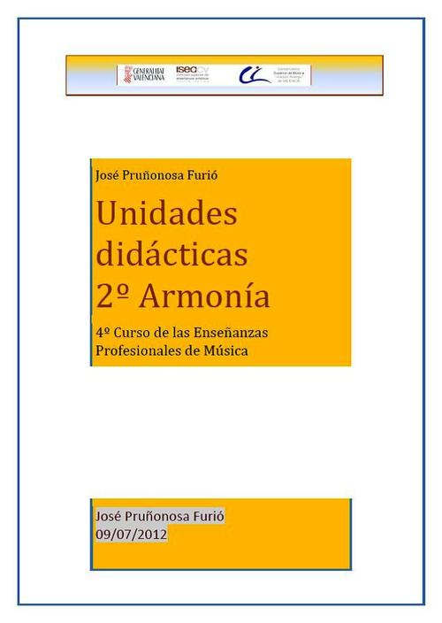 Product picture Unidades Didácticas 2º Armonía Enseñanzas profesionales.pdf