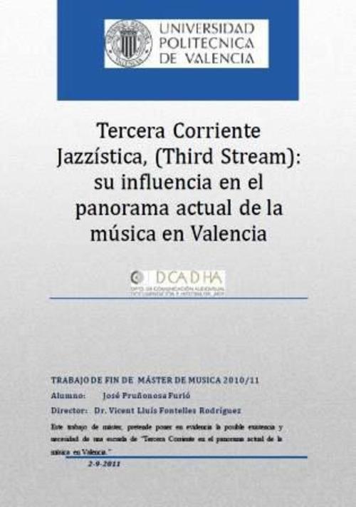 Product picture Tercera Corriente Jazzística en Valencia